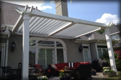 Pergola for Water Protection