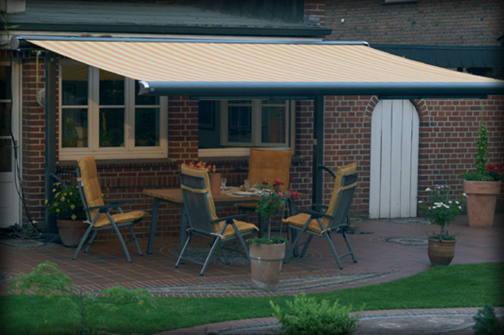 Portable Awnings For Decks : Retractable deck awnings canopies