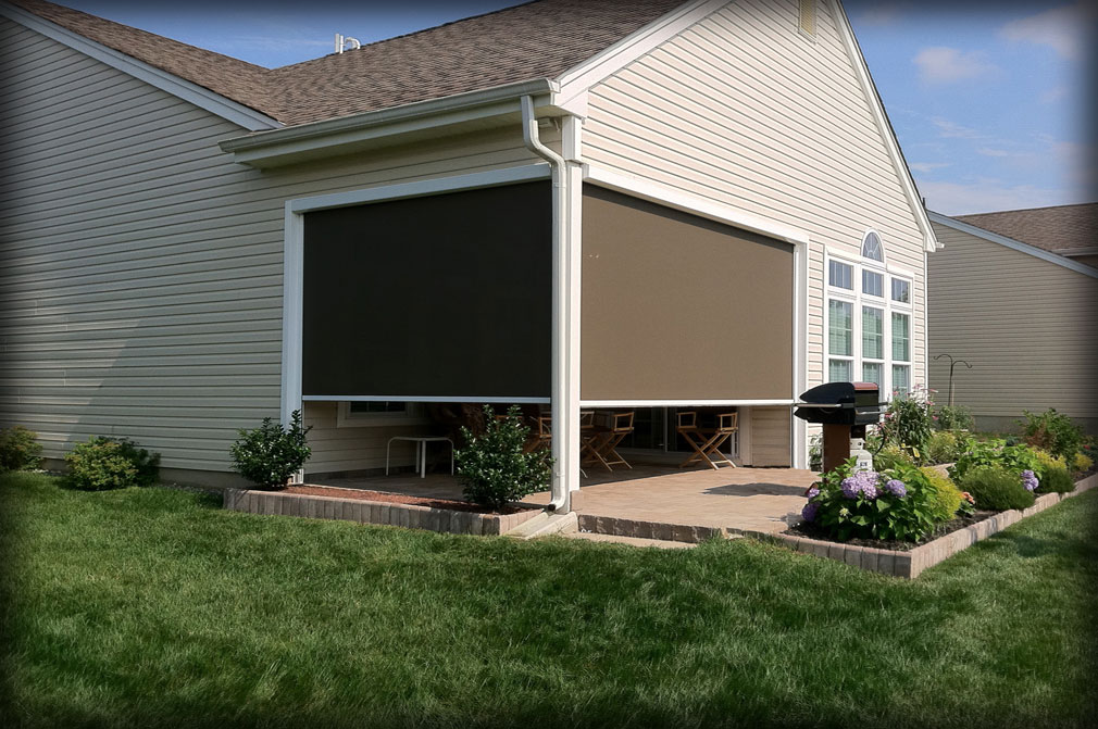 Retractable Solar Shades Shade Curtains For Houses