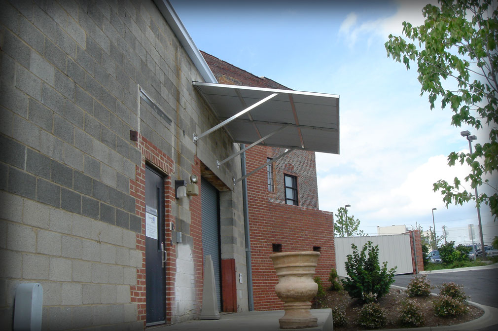 Standing Seam Awnings Amp Corrugated Aluminum Canopies