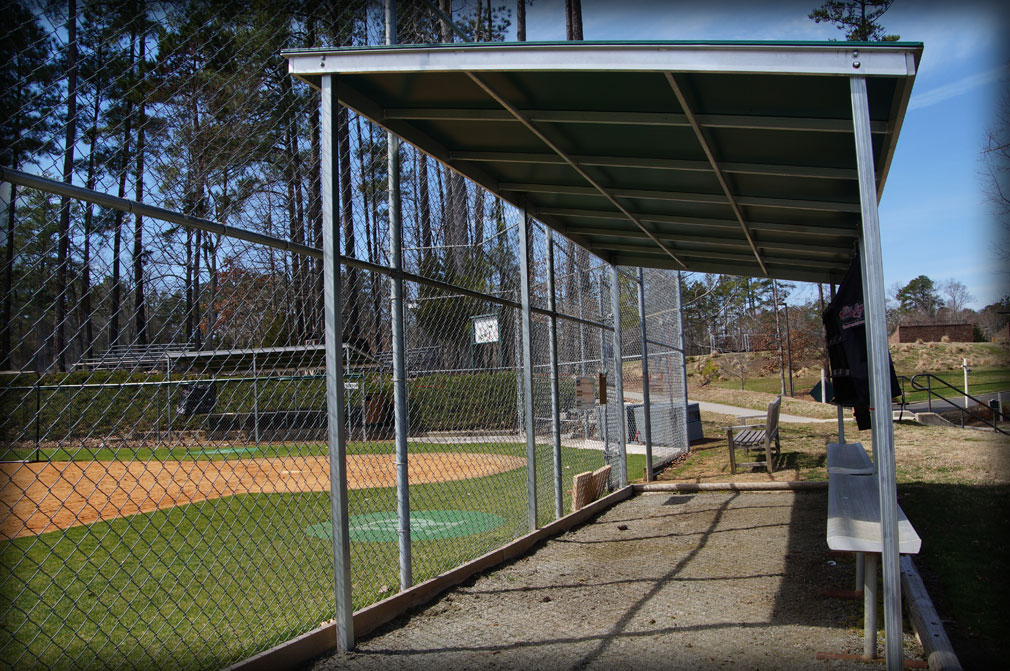 Baseball Dugout Shade Covers For Dugouts amp Bullpens