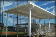 Metal Bleacher Covers