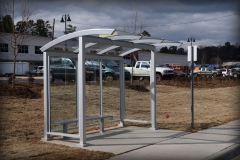 Glass Bus Shelters
