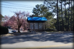 Fabric Bus Stop Shelter