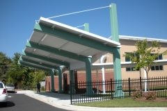 Bus Drop-Off Canopy
