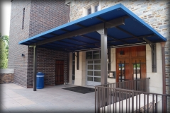 Fabric Entrance Awning