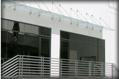 Glass Panel Canopies