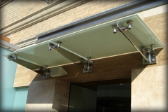 Glass Window Awnings