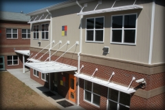 Sunshades and Rod Canopies