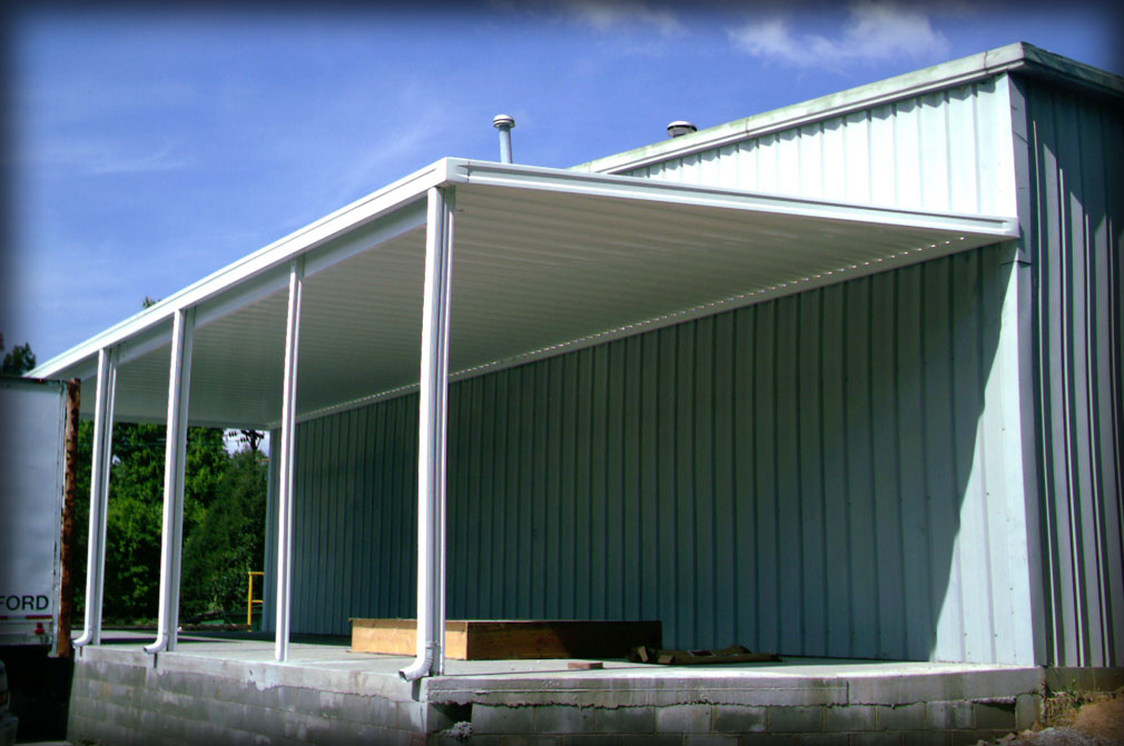 Truck Bay Covers and Canopies & DAC Architectural Loading Dock Canopies
