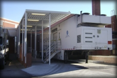 Mobile MRI and Cath Lab Walkway Cover