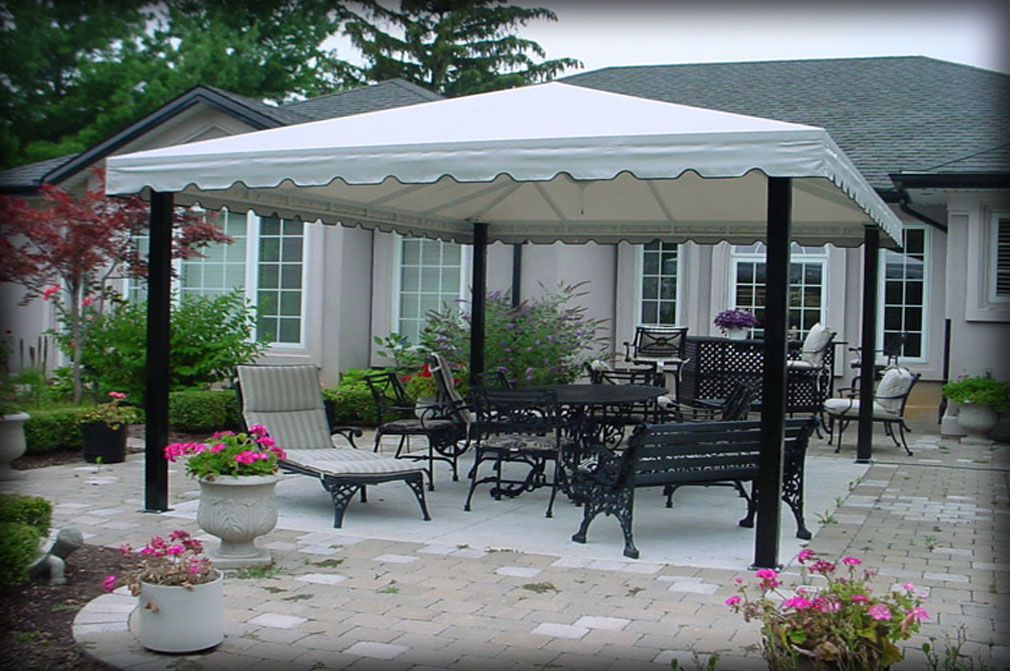 Outdoor Patio Dining Canopies & Residential Deck Awnings Residential Patio Canopies