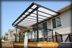 Natural Light Deck Awning