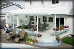 Filtered Light Deck Awning