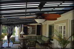 Patio Awnings with Fans