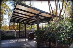 Pool Side Shade Canopies