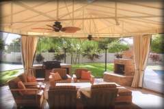 Outdoor Lounge Fabric Covers