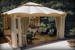Outdoor Kitchen Pavillions
