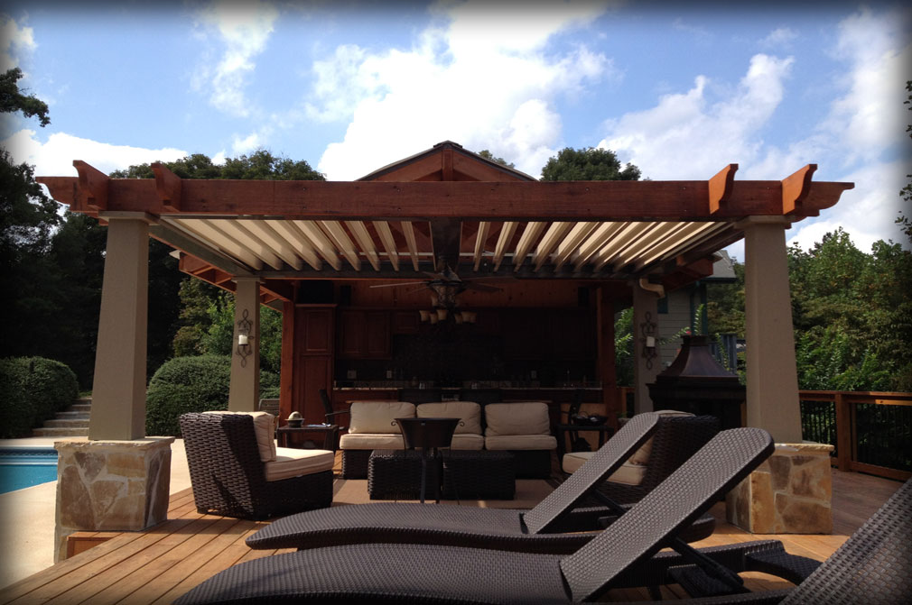 Stationary Amp Motorized Residential Pergolas Amp Pergola Covers