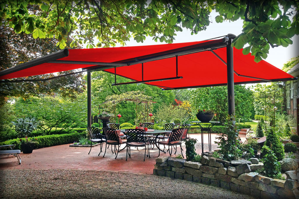 butterfly retractable awning