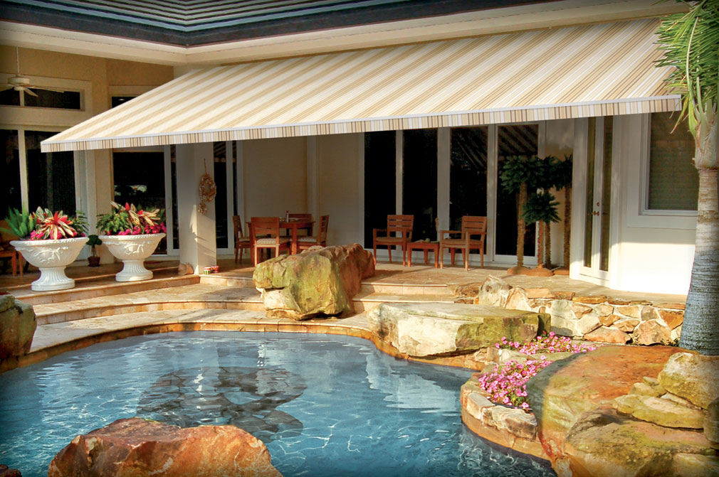 Waterfront Retractable Awnings A Lot Better Than Sunsetter