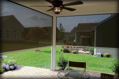Motorized Patio Panels