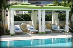 Luxury Poolside Seating Covers