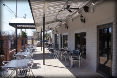 Restaurant Fabric Awnings