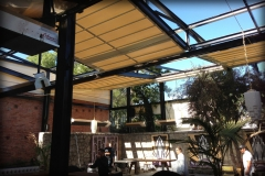 Retractable Fabric Roof System