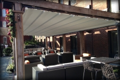 Waterproof Retractable Pergola Cover