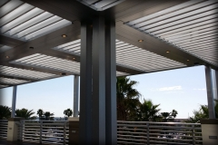 Aluminum Louver Roof Systems