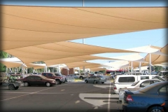 Parking Lot Shade Sails and Structures
