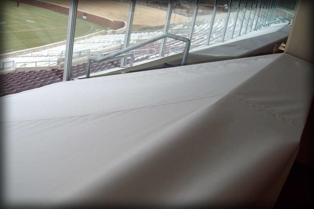 Weatherproof Fabric Stadium Protective Seating Covers