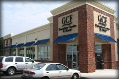 Storefront Standing Seam Awnings