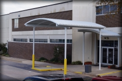 Standing Seam Drop Off Canopies