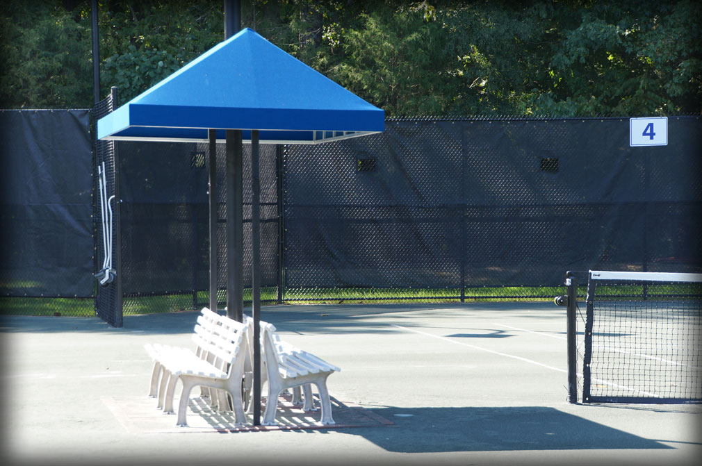 Tennis Bench Shade Covers amp Stand Pavilions