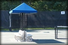 Tennis Bench Fabric Covers