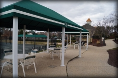 Tennis Court Shade Covers