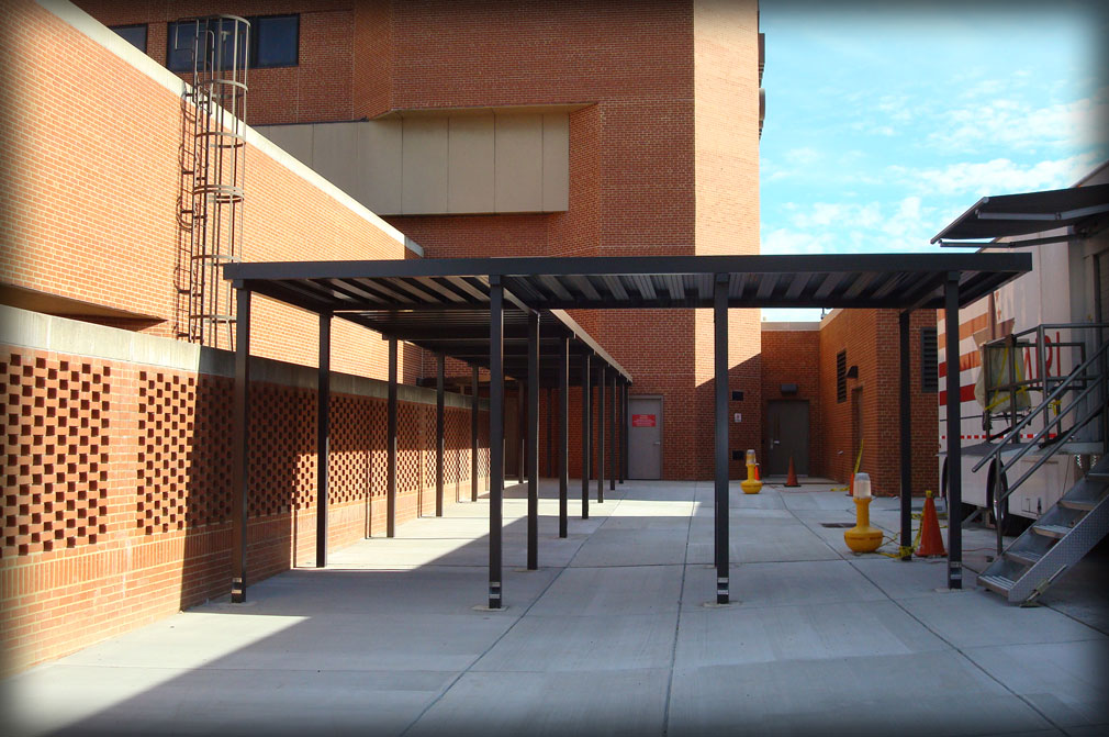 Dac Architectural Aluminum Walkway Covers Amp Canopies