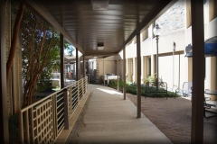 University and School Aluminum Walkway Covers