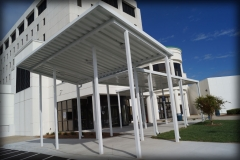 Metal Drop Off Canopies