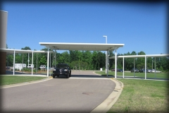 Pre-Engineered Drive Thru Canopy