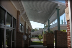 Metal School Canopies