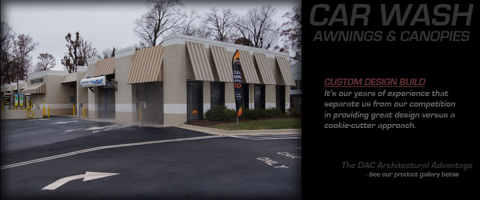 Car Wash Canopies 5 Dac Awnings