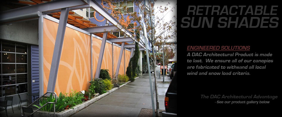 Commercial Sun Shades 2 Dac Awnings