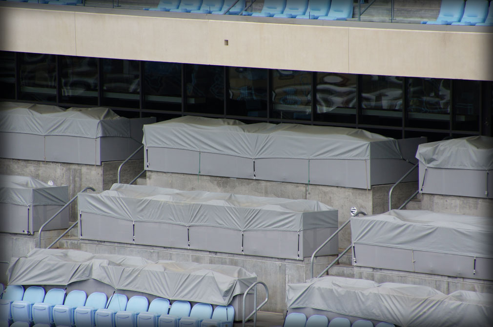 Stadium Protective Seating Covers