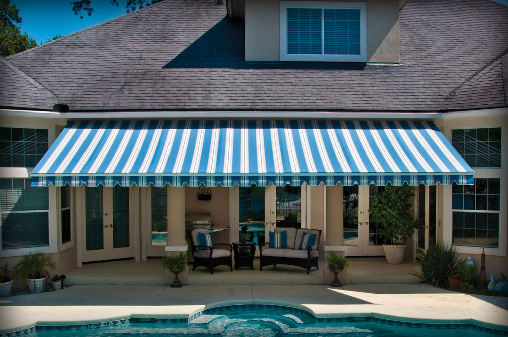 Motorized Retractable Canopy Markilux Awning