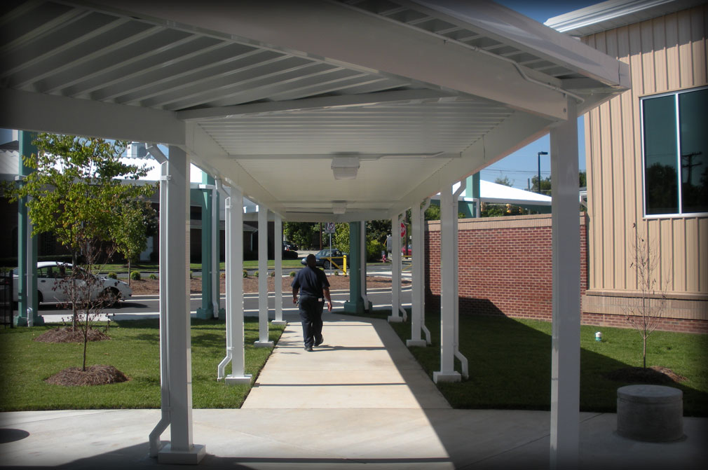 Walkway Canopies & Covers